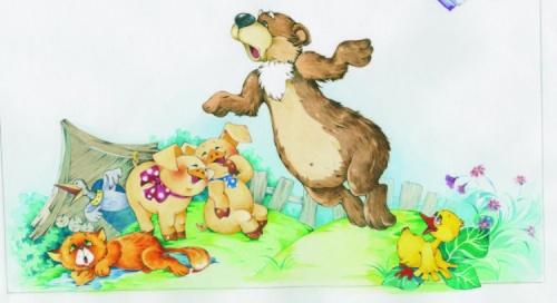 Детский иллюстратор из Минска Бабок Екатерина (60 работ)