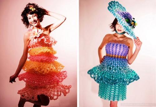 Одеяния из воздушных шаров (40 фото)