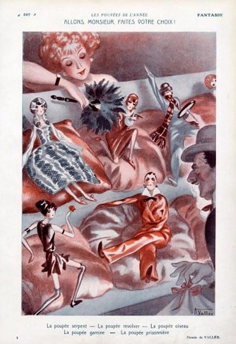 Забытые иллюстраторы - Armand Vallee (176 работ)