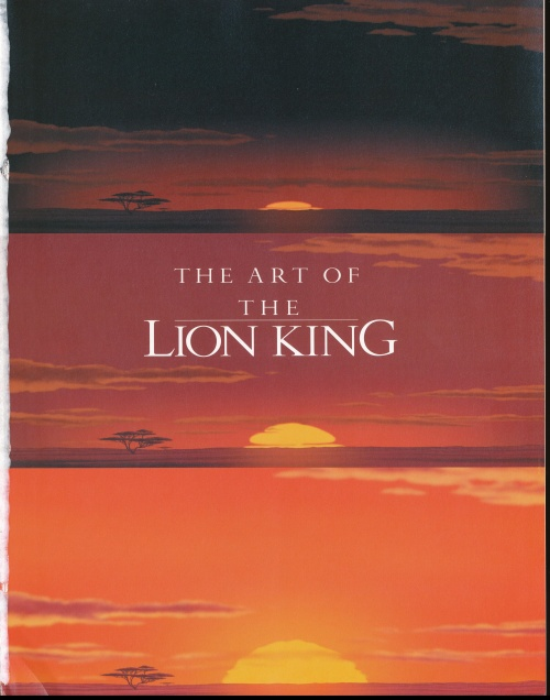 The Art of Lion King by Christopher Finch and James Earl Jones (164 работ)