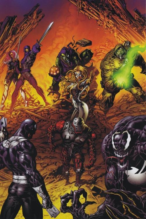 Marvel Artbook - Civil War (54 работ)