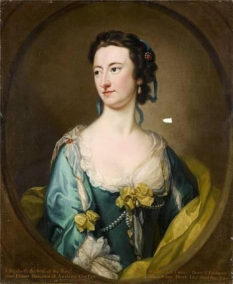 Английский художник-портретист George Knapton (1698-1778) (55 работ)