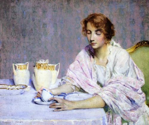 Американский художник Francis Coates Jones (1857-1932) (45 работ)