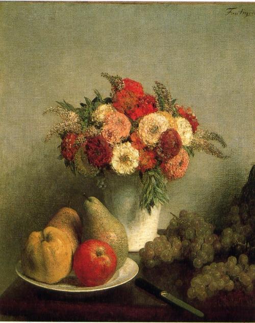 Букет цветов - работы известных художников (50 работ)