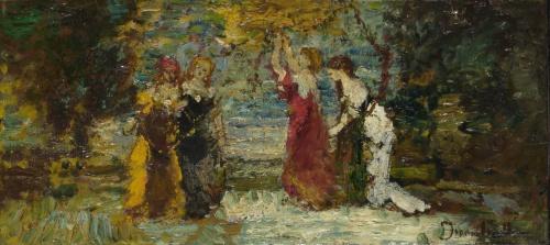 Европейские художники 12-19 веков (77 работ) (10 часть)