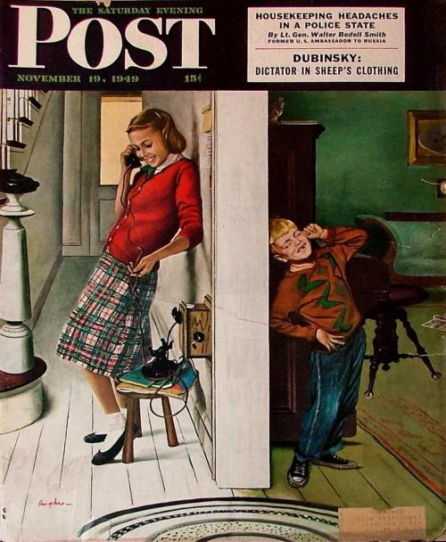 Забытые иллюстраторы - George Hughes (92 работ)