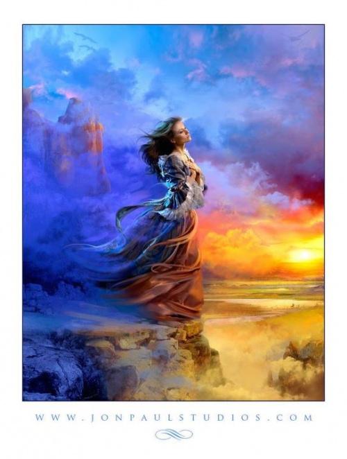 Romantic Art by Jon Paul (260 работ)