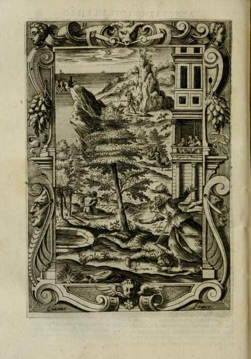 Giacomo Franco (1550–1620). Le metamorfosi di Ovidio (1584) (34 работ)