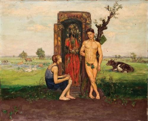 Польский художник Vlastimil Hofman (112 работ)