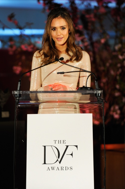 Jessica Alba - 3rd Diane Von Furstenberg Awards Photoshoot (2012) (25 работ)