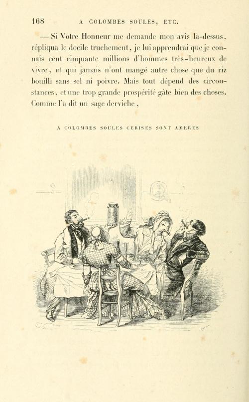 J. J. Grandville (1803-1847) (154 работ) (2 часть)