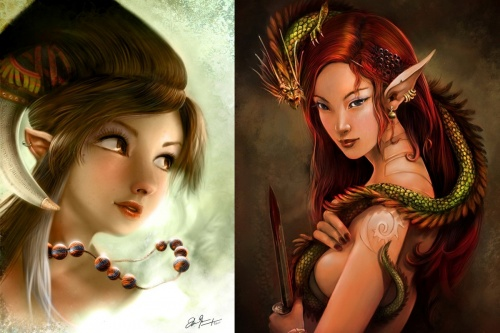 Mind Blowing Fantasy Artworks (679 работ) (2 часть)