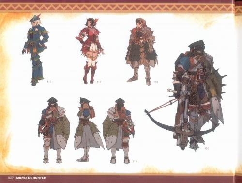 """АртБук """"Monster Hunter Illustrations"""" (2-е части) (148 работ) (2 часть)"""