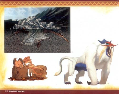 """АртБук """"Monster Hunter Illustrations"""" (2-е части) (148 работ) (1 часть)"""