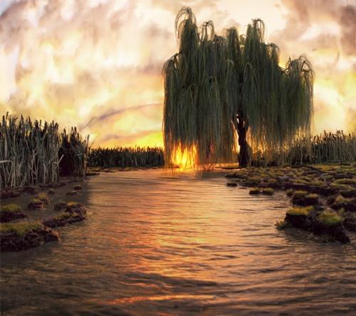 Рукотворные пейзажи Мэтью Альбанезе (17 фото)