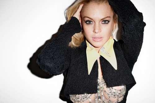 Lindsay Lohan by Terry Richardson for Purple Magazine (28 фото)