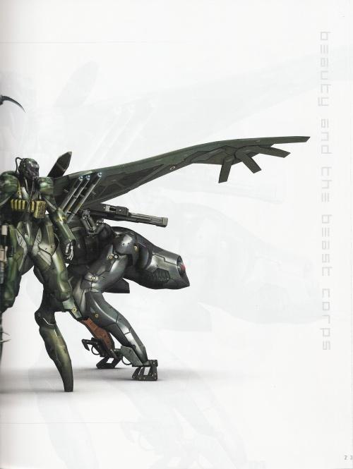 Metal Gear Solid 4 Art Book (36 работ)