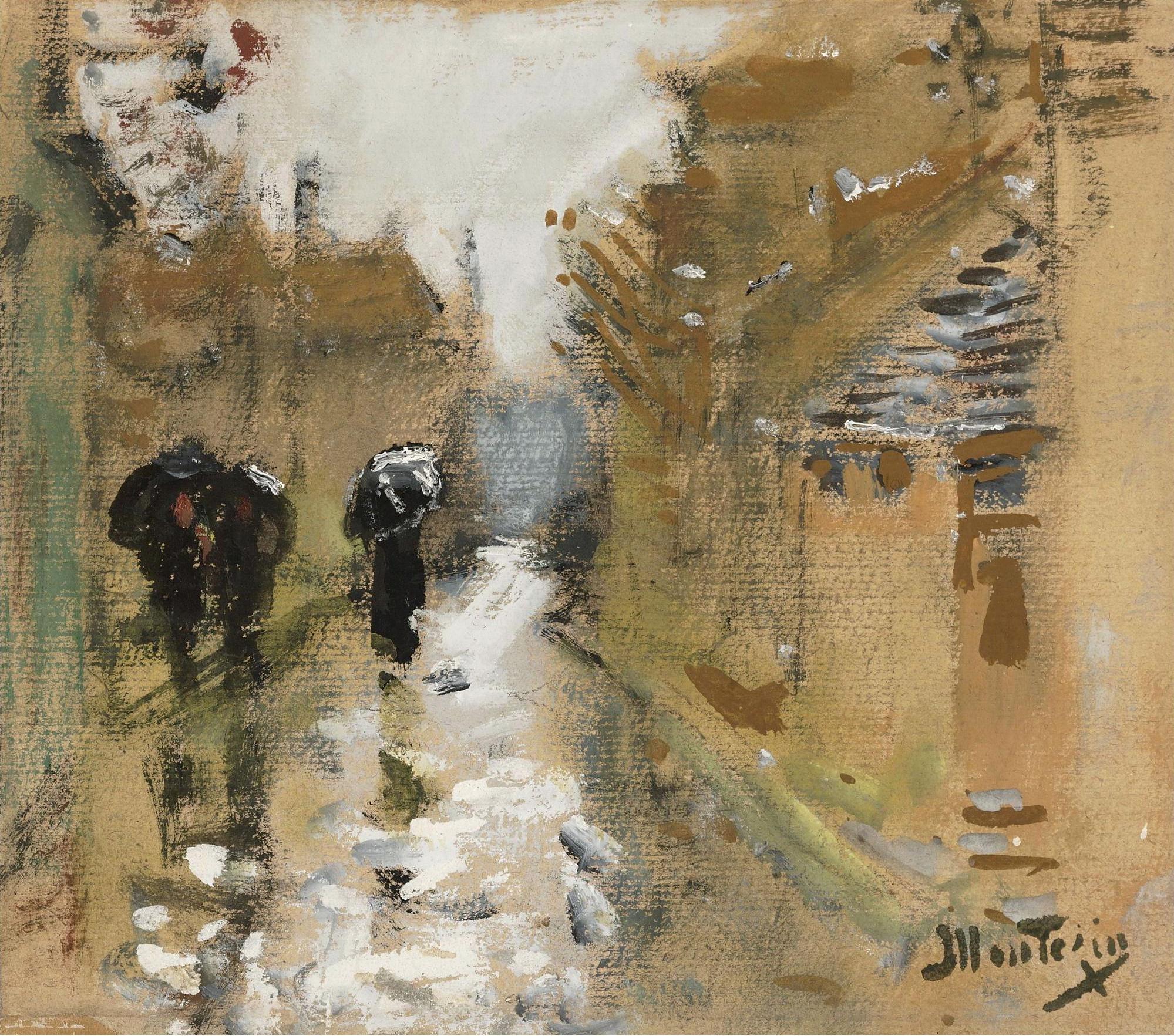 "Картинки по запросу ""famous paintings with rain"""