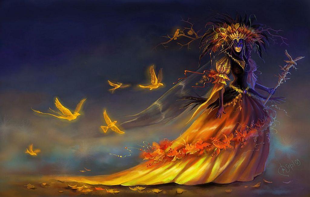 Картинки волшебница осень пришла