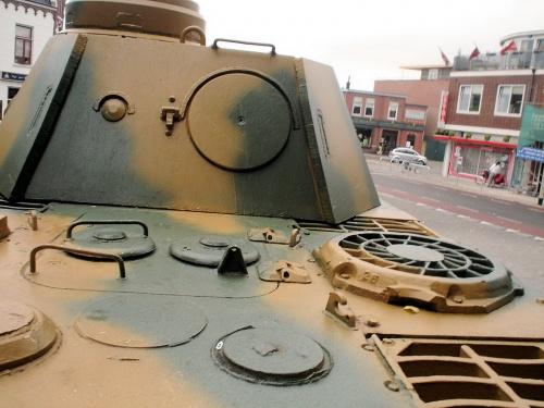 Немецкий средний танк Panther Ausf.D (31 фото)