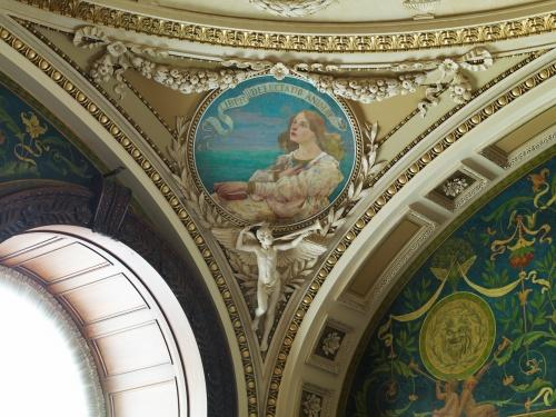 Фрески Библиотеки Конгресса США. Часть 4. Edward Joseph Holslag (1870-1924) (10 фото)
