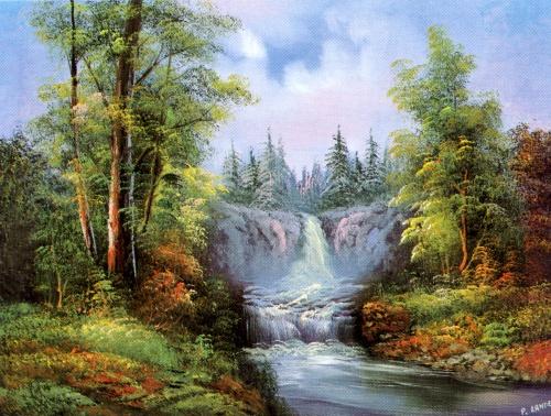 Пейзажные картины известных художников (22 работ)