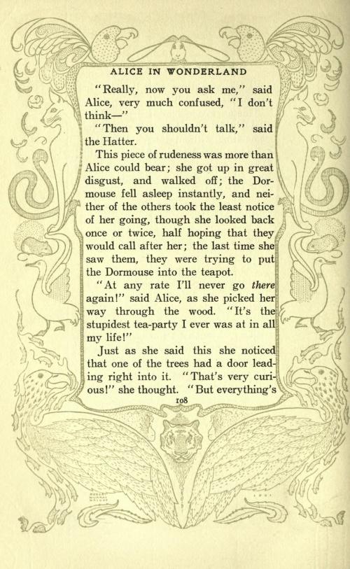 Peter Newell (1862-1924). Alice's adventures in Wonderland (1901) (242 работ)