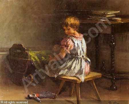 Художник Pietronella Peters (1848 – 1924, German) (20 работ)