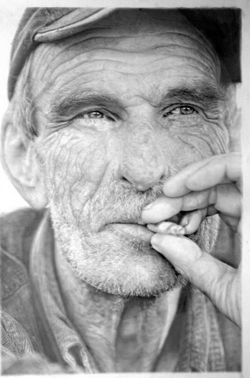 Гиперреалистичные рисунки Пола Кэддена (22 работ)
