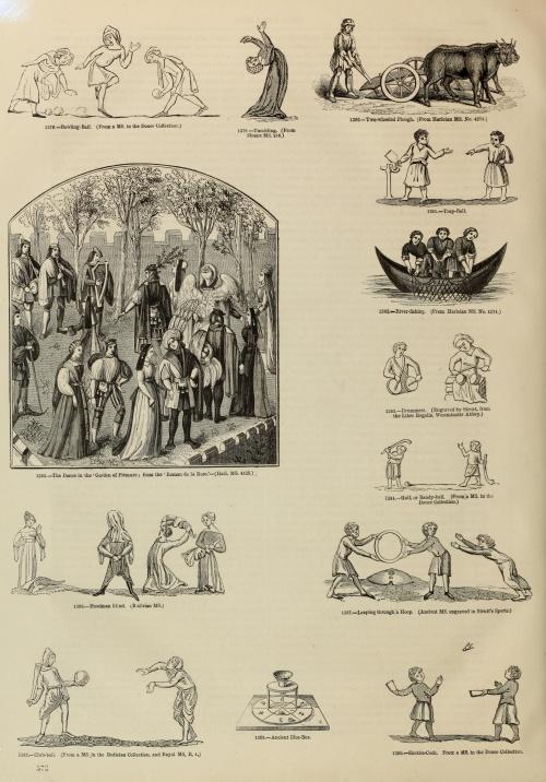 Old England. A pictorial museum of regal, ecclesiastical, municipal, baronial, and popular antiquities (1864) (215 работ) (2 часть)