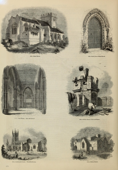 Old England. A pictorial museum of regal, ecclesiastical, municipal, baronial, and popular antiquities (1864) (215 работ) (2 часть)