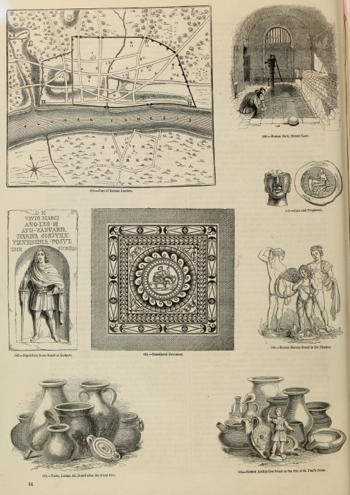 Old England. A pictorial museum of regal, ecclesiastical, municipal, baronial, and popular antiquities (1864) (215 работ) (1 часть)