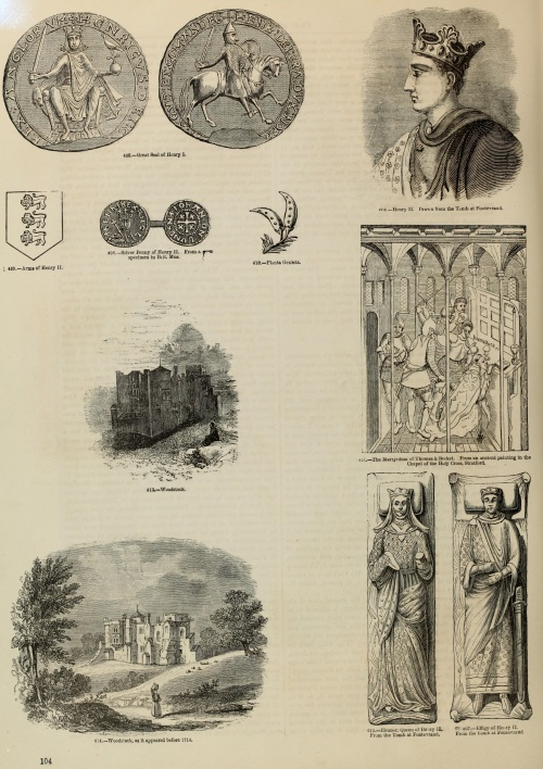 Old England. A pictorial museum of regal, ecclesiastical, municipal, baronial, and popular antiquities (1864) (215 работ) (1 часть)