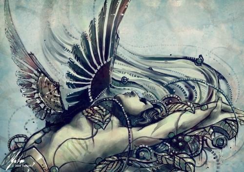 Знаки зодиака от художницы из Словакии Yuhon (24 работ)