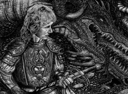 Подборка иллюстраций художников фантастов (134 работ)