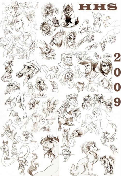 Симпатичные работы шведской художницы Hedvig (ник - Vixie87) (324 работ)