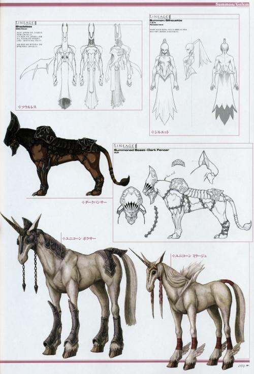 "АртБук ""The ARK - Lineage II Illustrations"" (125 работ) (2 часть)"