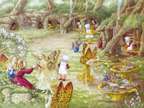 Сказочные иллюстрации от Shirli Barber (24 работ)