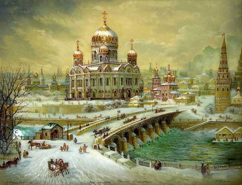 800 x 611 Федоскинская