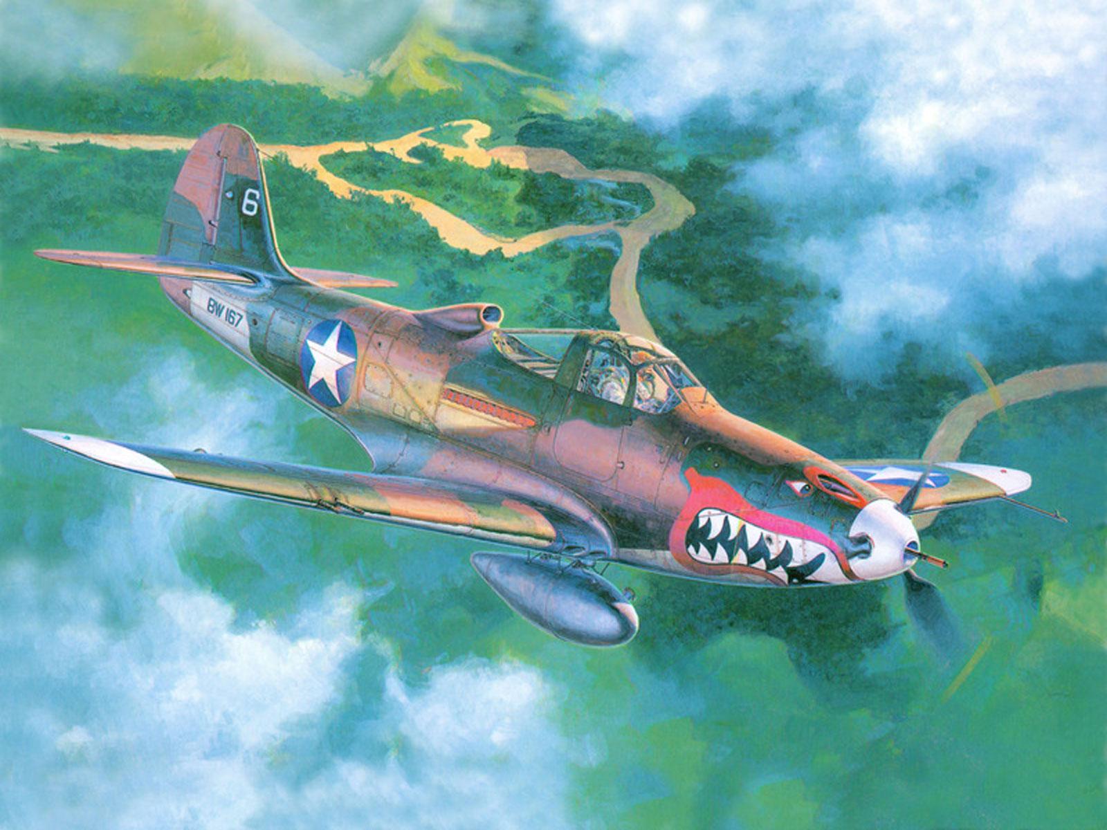 Рисованная авиация