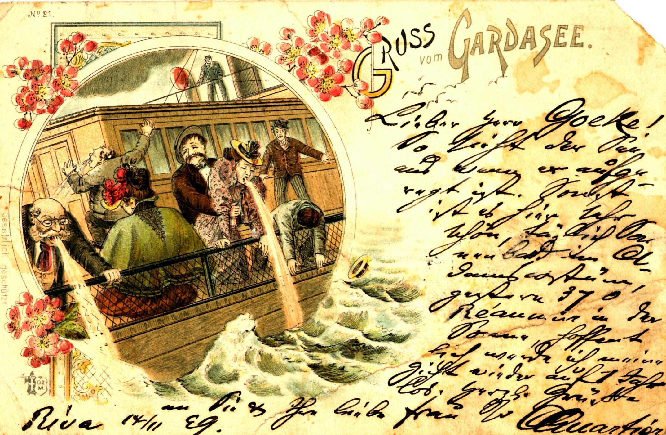 Старые рождественские открытки (91 фото) 47