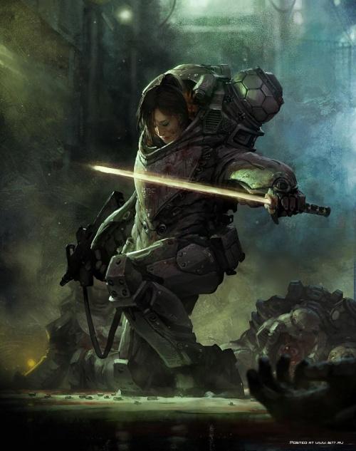 Фантастические миры и герои от Marek (29 работ)