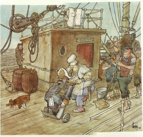 Иллюстратор Jan Sanders (1919-2000) (74 работ)