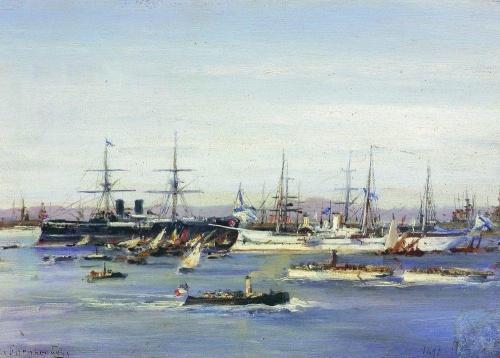 Русские художники - Алексей Петрович Боголюбов (454 работ)