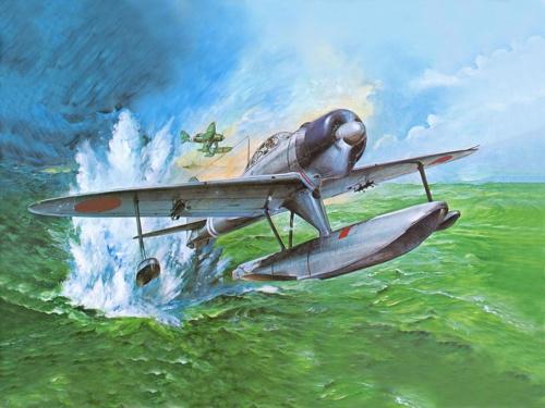 Рисованая боевая авиация (141 работ)