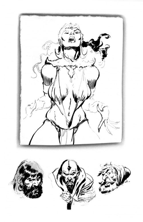 John Buscema Sketchbook (129 работ)