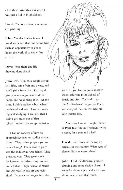 John Buscema Sketchbook (129 работ)