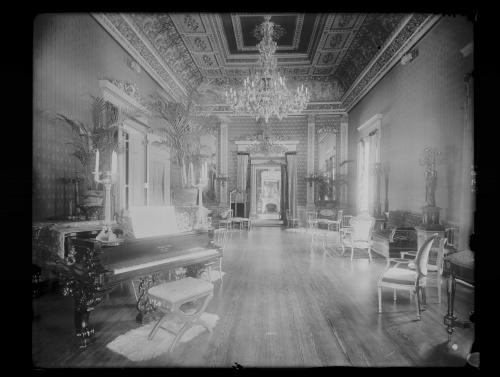 Интерьер 100 лет назад... (16 фото)