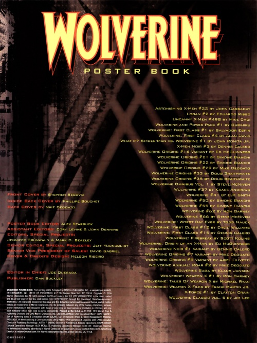 Wlvrine - Poster Book (41 работ)