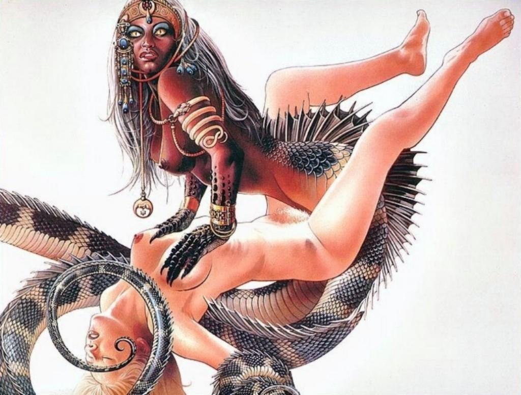 Erotic porn fantasy monster stories nude wemen